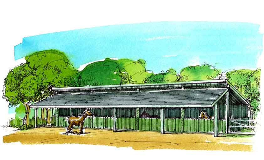 Agricultural Barn | BGS Plan AG-50