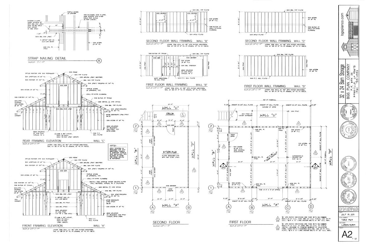 BGS Two Story Plan Example Page 2
