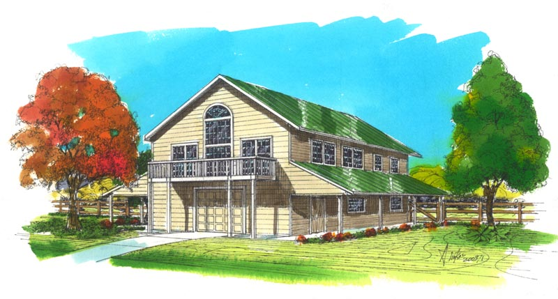 Barn Garage Shop Building Plans