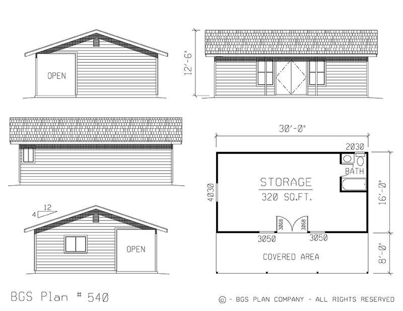 Storage | BGS Plan 540