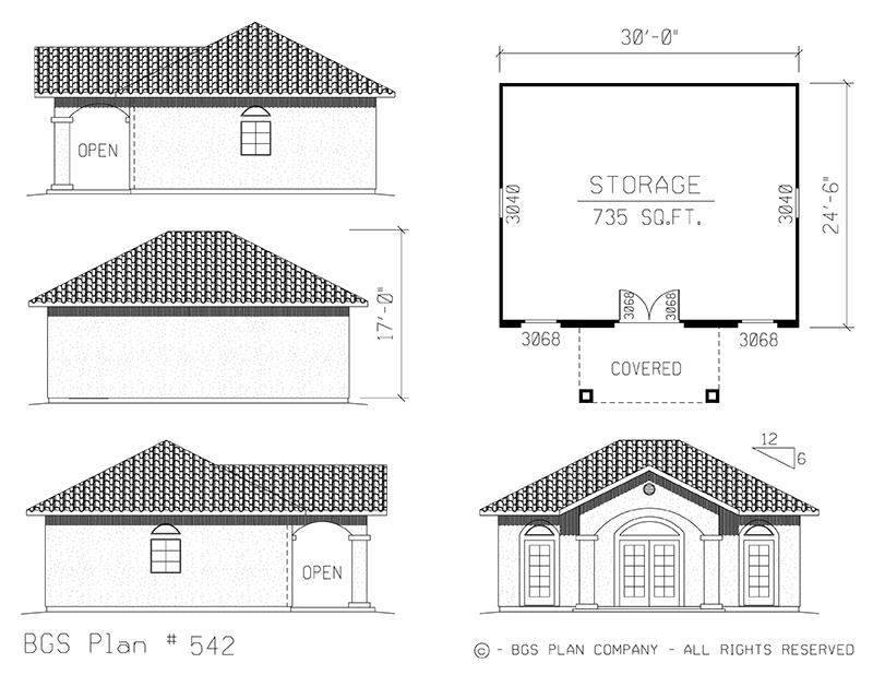 Storage | BGS Plan 542