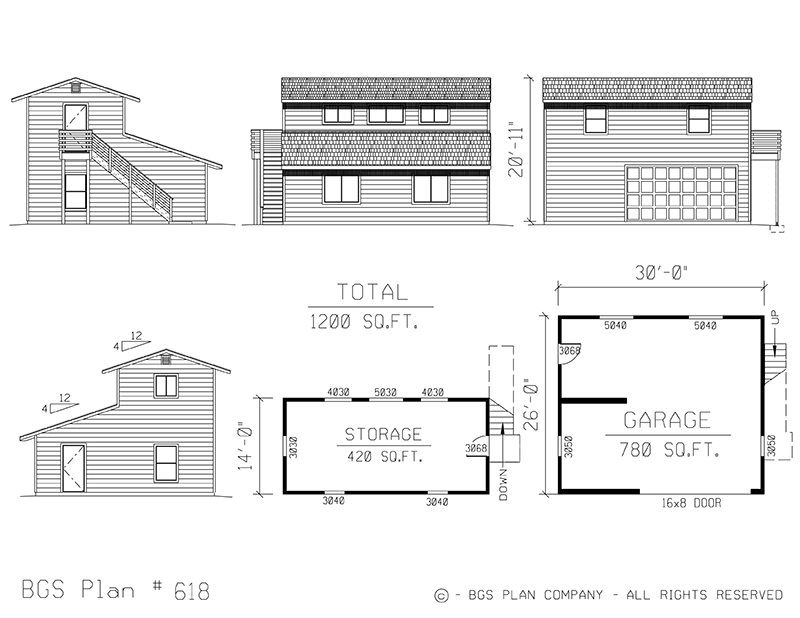Two Story | BGS Plan 618
