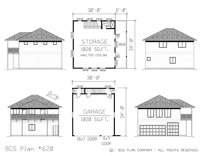 Two Story | BGS Plan 620