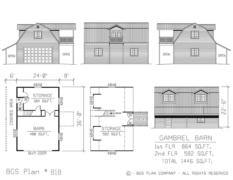 Dutch Barns   BGS Plan 818