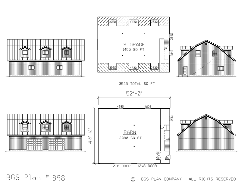 Dutch Barns | BGS Plan 898